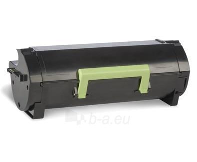 Toneris Lexmark 502U black   return   20000 pgs  MS510dn / MS610de / MS610dn / M Paveikslėlis 1 iš 1 2502560201270