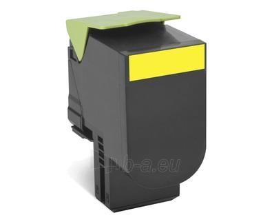 Toneris Lexmark 802HY yellow | return | 3000 pgs| CX410de / CX410dte / CX410e / Paveikslėlis 1 iš 1 2502560201274