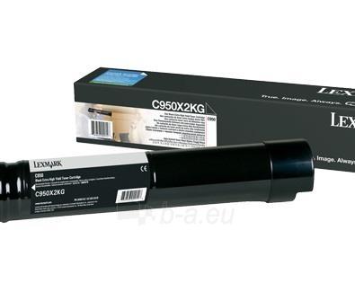 Toneris Lexmark black | 36 000 pgs| C950 Paveikslėlis 1 iš 1 310820044379