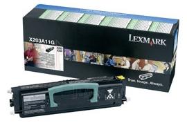 Toneris Lexmark black | return | 2500pgs | X203/X204 Paveikslėlis 1 iš 1 2502560201299