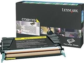 Toneris Lexmark yellow | return | 10000pgs | C736/X736/X738 Paveikslėlis 1 iš 1 2502560201984