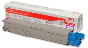 Toneris OKI magenta   1500lap.   C3300/3400/3450/3600 Paveikslėlis 1 iš 1 2502560201400