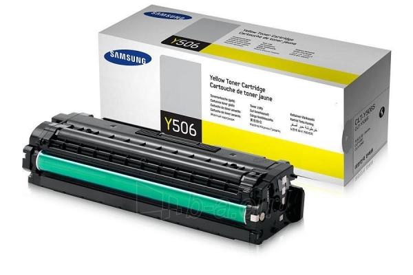 Toneris Samsung Yellow CLT-Y506S 1500str Paveikslėlis 1 iš 1 2502560202044