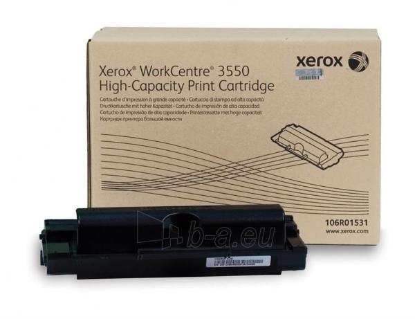 Toneris Xerox black | High Capacity | 11000psl | WorCentre 3550 Paveikslėlis 1 iš 1 2502560202098