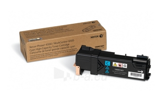 Toneris Xerox cyan | 2500psl | Phaser 6500N Paveikslėlis 1 iš 1 2502560201484
