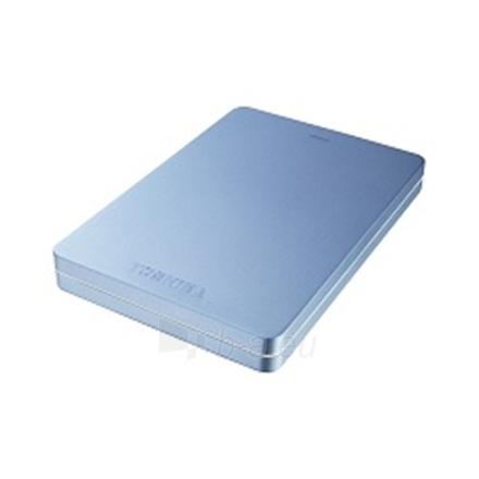 """Toshiba STOR.E CANVIO ALU 2.5"""" 500GB USB 3.0 Metallic Blue Paveikslėlis 1 iš 2 250255521601"""