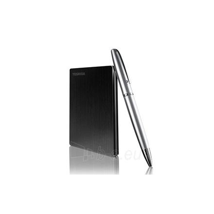 Toshiba STOR.E SLIM 2.5'' 500GB, USB 3.0, Black Paveikslėlis 1 iš 1 250255520960
