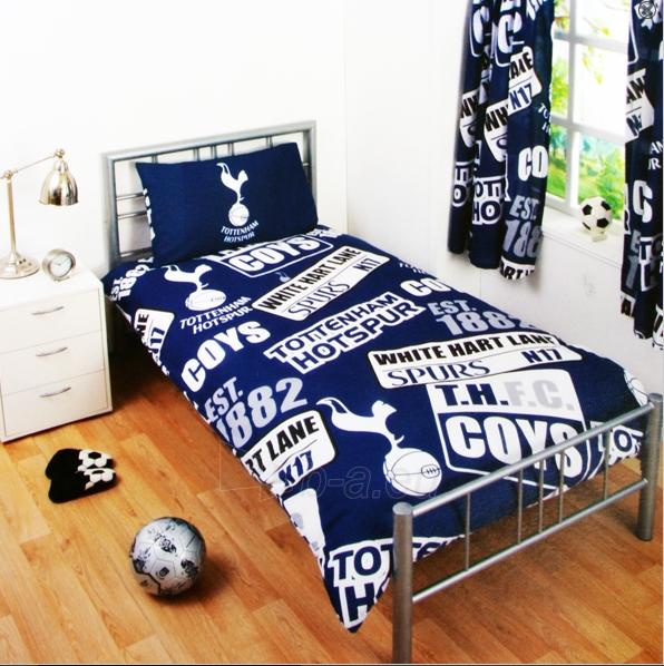 Tottenham Hotspur F.C. patalynės komplektas (logo) Paveikslėlis 1 iš 2 251009001357