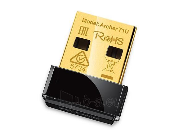 TP-Link Archer T1U AC450 5GHz Wireless Nano USB Adapter Paveikslėlis 1 iš 2 310820009146
