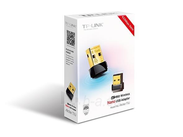 TP-Link Archer T1U AC450 5GHz Wireless Nano USB Adapter Paveikslėlis 2 iš 2 310820009146