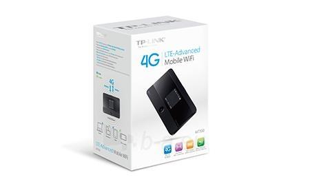TP-Link M7350 4G LTE Mobile Wi-Fi, SIM slot, micro SD slot, 150Mb/s 2,4/5GHz Paveikslėlis 3 iš 5 250257100633