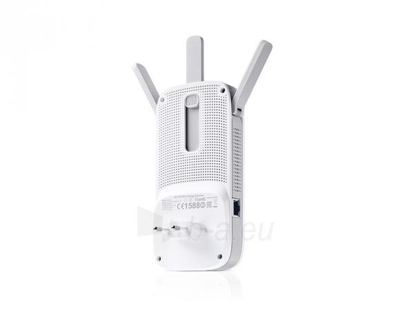 TP-Link RE450 Wireless Range Extender 802.11b/g/n/ac  AC1750 , Wall-Plug Gigabit Paveikslėlis 3 iš 4 250257100691