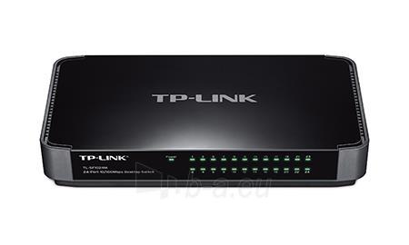 TP-Link TL-SF1024M Switch 24x10/100Mbps Desktop Paveikslėlis 1 iš 2 250257501534