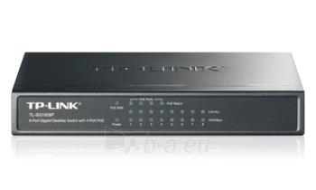 TP-Link TL-SG1008P 8-Port Gigabit Desktop PoE Switch Paveikslėlis 1 iš 2 250257501233