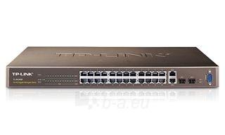 TP-Link TL-SL3428 24-Port 10/100Mbps  4-Port Gigabit L2 Lite Managed Switch Paveikslėlis 1 iš 1 250257501294