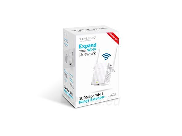 TP-Link TL-WA855RE Wireless Range Extender 802.11b/g/n 300Mbps, Wall-Plug Paveikslėlis 3 iš 3 310820009167