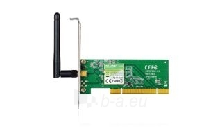 TP-Link TL-WN751ND Wireless PCI Network Adapter 802.11n/150Mbps Paveikslėlis 1 iš 1 250257100475
