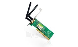 TP-Link TL-WN851ND tinklo plokštė Wireless, PCI,300Mbps N, 2 atjungiamos antenos Paveikslėlis 1 iš 1 250257100480