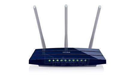 TP-Link TL-WR1043ND Wireless 802.11n/300Mbps 3T3R router 4xGigabit, 1xWAN, 1xUSB Paveikslėlis 2 iš 3 250257200705