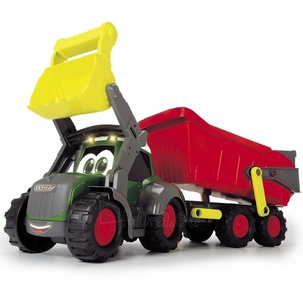 Traktorius su priekaba | Happy Farm Trailer | Dickie Paveikslėlis 1 iš 9 310820157131