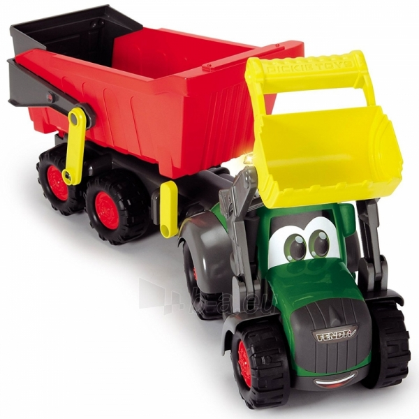 Traktorius su priekaba | Happy Farm Trailer | Dickie Paveikslėlis 3 iš 9 310820157131