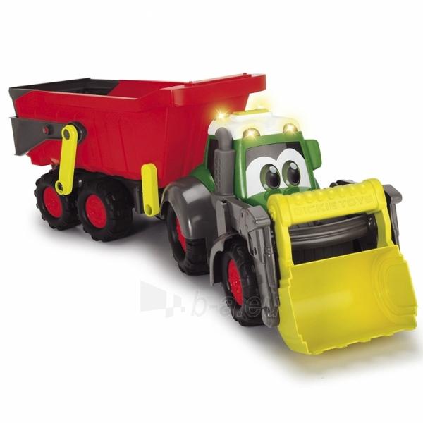 Traktorius su priekaba | Happy Farm Trailer | Dickie Paveikslėlis 5 iš 9 310820157131