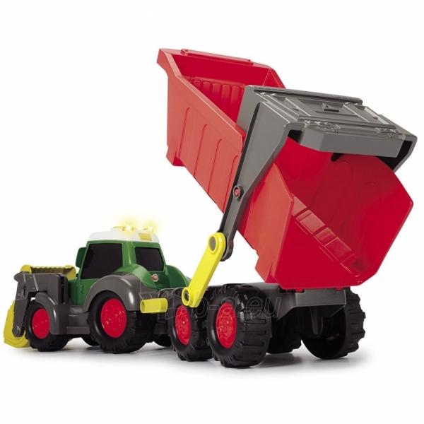 Traktorius su priekaba | Happy Farm Trailer | Dickie Paveikslėlis 7 iš 9 310820157131