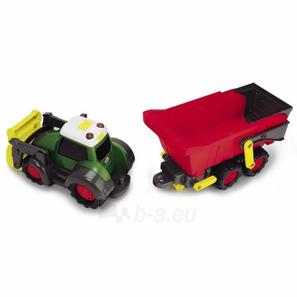 Traktorius su priekaba | Happy Farm Trailer | Dickie Paveikslėlis 8 iš 9 310820157131
