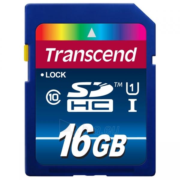 TRANSCEND 16GB SDHC Class10 UHS-I 300X Paveikslėlis 1 iš 1 250255121859