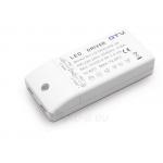 Transformatorius elektroninis 6W, 12V, DC, IP20, GTV LD-ZASL6W-30 Paveikslėlis 1 iš 1 223853000059