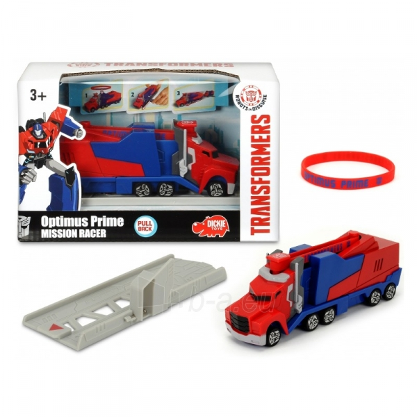 Transformeris Mission Racer Optimus Prime Paveikslėlis 1 iš 2 310820094123