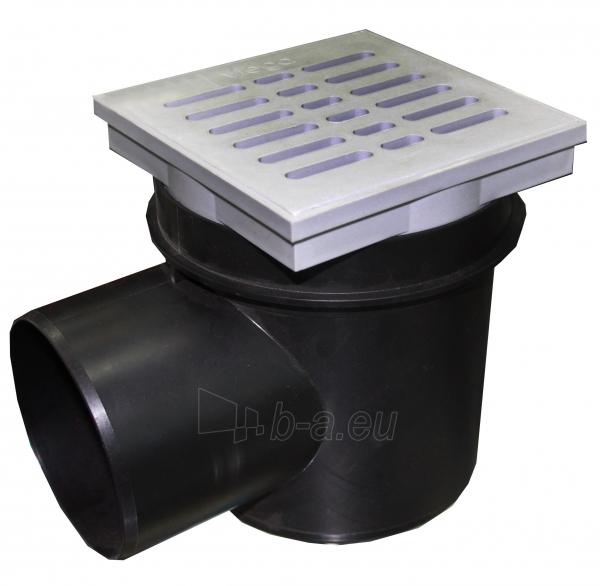 Trapas 150x150x155x110 į grindis plastikinis Paveikslėlis 1 iš 1 310820059757