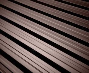 Trapezoidal profile steel roof Sacandinavia T18, 455 grafito spalvos Paveikslėlis 1 iš 3 310820039397