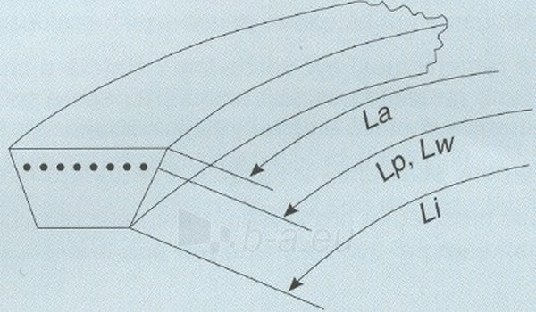 Dirž. L-L B17 Li 1660/Lw 1700 Paveikslėlis 1 iš 1 223021000047