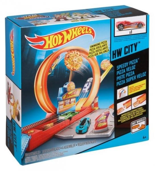 Trasa BGJ05 / X9295 Mattel Hot wheels SPEEDY PIZZA Paveikslėlis 1 iš 4 310820047931