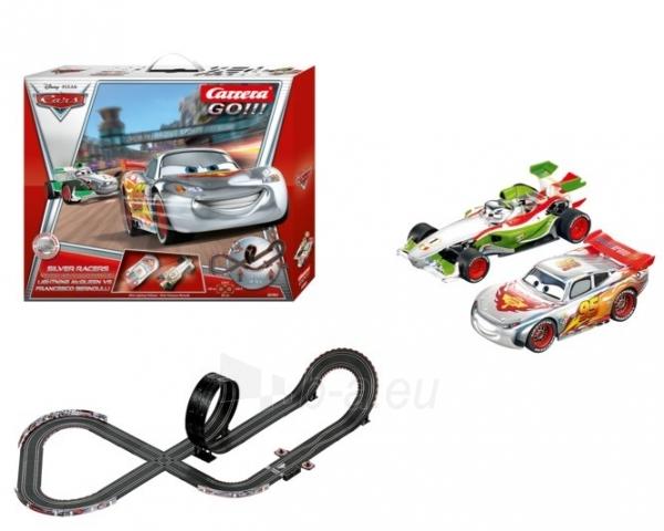 Carrera 62301 Trasa Cars 2 SILVER RACERS 1:43 5 7m