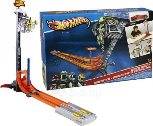 Mattel Hot Wheels X9283 Vertical Velocity Paveikslėlis 1 iš 2 30007000102