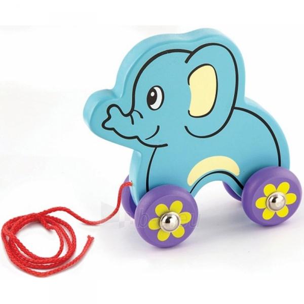 Traukiamas medinis drambliukas | Pull - Along Elephant | Viga 50091 Paveikslėlis 1 iš 2 310820186209