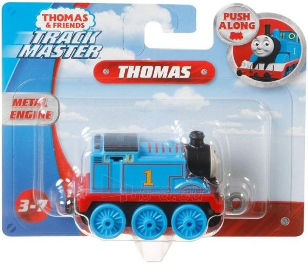 Traukinukas FXW99 / GCK93 Thomas & Friends TrackMaster Push a lo largo del motor de tren Thomas MATTEL Paveikslėlis 2 iš 4 310820249517