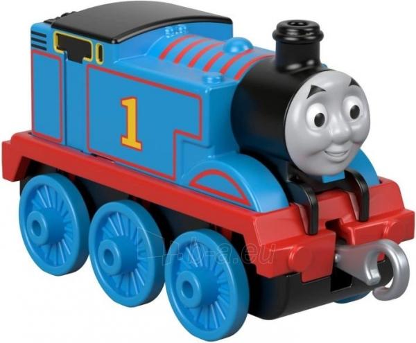 Traukinukas FXW99 / GCK93 Thomas & Friends TrackMaster Push a lo largo del motor de tren Thomas MATTEL Paveikslėlis 4 iš 4 310820249517