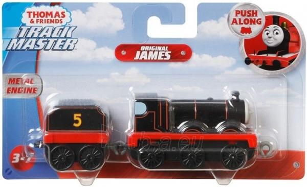Traukinukas GHK69 / GCK94 Thomas & Friends James - Figura decorativa, diseño de Thomas y sus amigos MATTEL Paveikslėlis 2 iš 3 310820249518