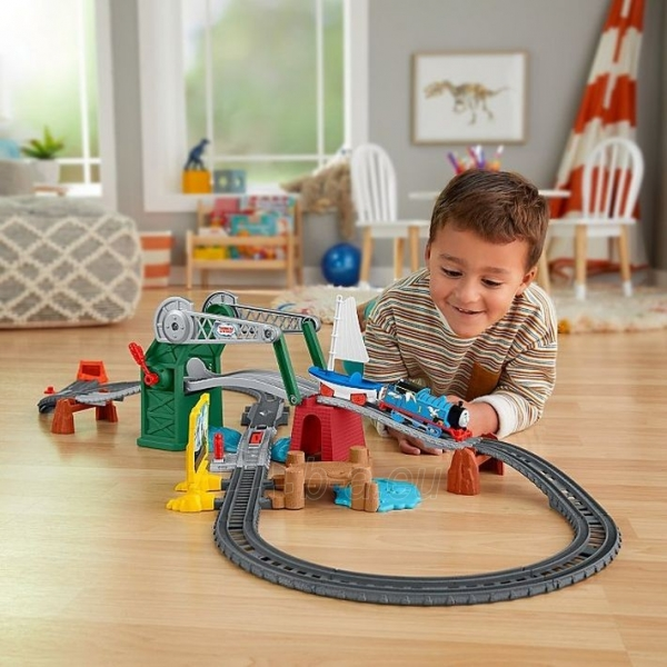 Traukinukas GWX09 Thomas & Friends Bridge Lift Thomas & Skiff Paveikslėlis 1 iš 6 310820249566