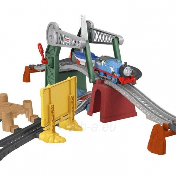 Traukinukas GWX09 Thomas & Friends Bridge Lift Thomas & Skiff Paveikslėlis 2 iš 6 310820249566