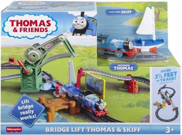 Traukinukas GWX09 Thomas & Friends Bridge Lift Thomas & Skiff Paveikslėlis 3 iš 6 310820249566