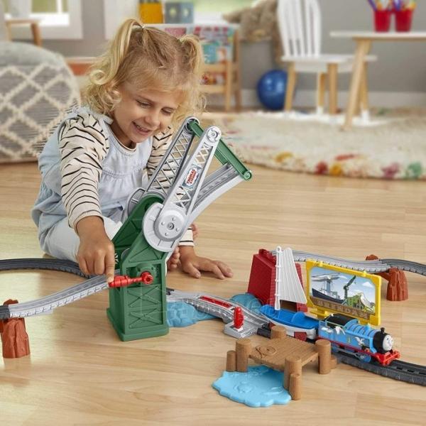 Traukinukas GWX09 Thomas & Friends Bridge Lift Thomas & Skiff Paveikslėlis 5 iš 6 310820249566