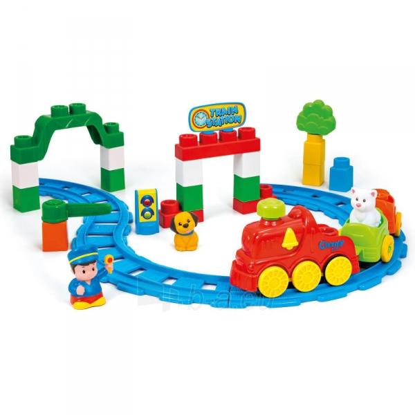 Traukinukas Train 35pcs. Paveikslėlis 1 iš 2 310820091642