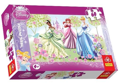 Dėlionė TREFL 17191 Puzzle princesės 60 det. Paveikslėlis 1 iš 1 250710100046