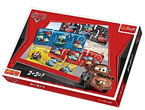 TREFL 00760 Stalo žaidimas Automobiliai 2 2 + 2 = ? Paveikslėlis 1 iš 2 250710100002