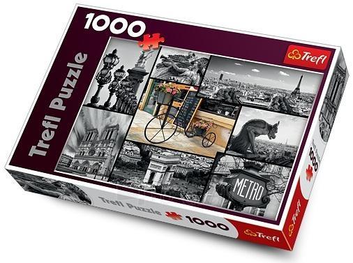 Trefl 10279 Puzzle Paris Collage 1000 vnt Paveikslėlis 1 iš 1 250710100224