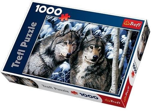 Trefl 10318 Puzzle Wolves 1000 det Paveikslėlis 1 iš 1 250710100237